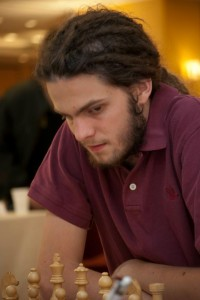 GM Nils Grandelius joined the leaders of the WJCC at the top of the standings