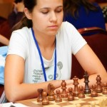 WGM Nastassia Ziaziulkina missed a good chance to take sole lead, but is still sharing the first place after R4