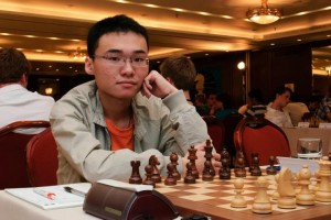 Yu Yangyi is at the top of the table after one of the longest games of the day